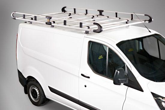 Rear Roller Citroen Dispatch Peugeot Expert L2 L3 2016 2 x Van Roof Rack Bars